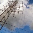 Voltage tower — Stock Photo #1105142