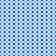Royalty-Free Stock Photo: Swedisch blue pattern