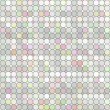 Pastel colored grid - Stock Photo