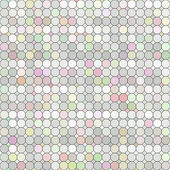 Pastel colored grid — Stock Photo