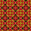 Red ornamental pattern — Stock Photo