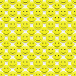 Smiley pattern — Foto de Stock