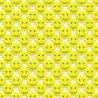 Smiley patroon — Stockfoto