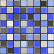 Royalty-Free Stock Photo: Blue and grey tile pattern