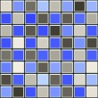 Blue and grey tile pattern — Stock Photo