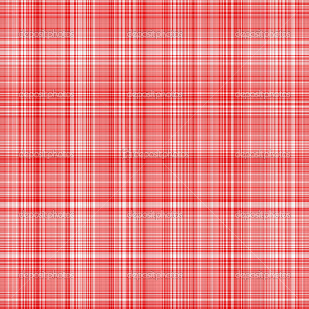 Seamless texture of woven square red lines on white — Stock Photo #1142753
