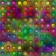 Grunge 3d dots background — Stock Photo
