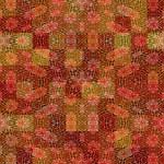 Warm batik rags pattern — Stock Photo