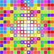 Bright blocks pattern — Stock Photo