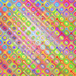Colorful sketch blocks pattern — Stock Photo