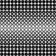 Black and white dots pattern — Stock Photo #1159506