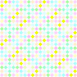 Royalty-Free Stock Photo: Festive pastel checks pattern