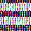 Stock Photo: Harlequin checkered pattern