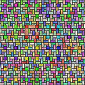 Colorful stained glass pattern — Stock Photo