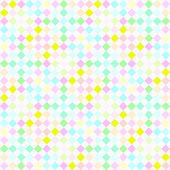 Festive pastel checks pattern — Stock Photo