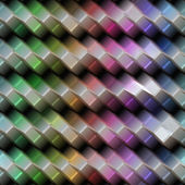 Colored metal texture — Stock Photo