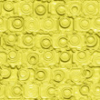 Yellow silicon pattern — Stock Photo