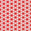Royalty-Free Stock Photo: Abstract red textile pattern