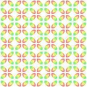 Festive leaves pattern — Stock Photo