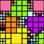 Colorful blocks — Stock Photo