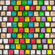 Colorful cobble stone pattern — Stock Photo #1526664