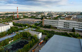 Industrial zone — Stock Photo