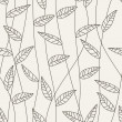 Floral seamless pattern - Imagen vectorial