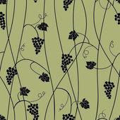 Grape seamless pattern — Stock Vector