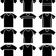 T-shirts — Stock Vector