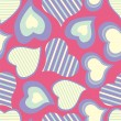 Royalty-Free Stock Obraz wektorowy: Seamless pattern with hearts