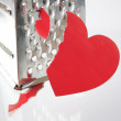 Stock Photo: Paper heart