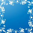 Royalty-Free Stock Vector Image: Blue ornament background