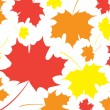 Royalty-Free Stock Vector Image: Fall leaves background