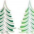 Royalty-Free Stock Vectorielle: Christmas trees
