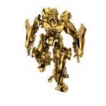 Golden robot — Stock Photo