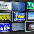 Royalty-Free Stock Photo: TV screens