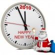 Stock Photo: SantClaus with New Year