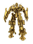 Golden robot — Stock Photo