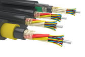 Electric cables — Stock Photo