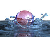 Water splashes — Stock Photo