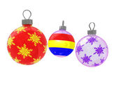 Cristmas tree decoration — Stock Photo