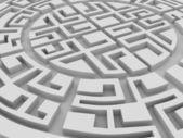 Ronde labirinth — Stockfoto