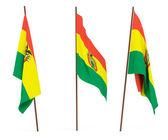 Bandiera della bolivia — Foto Stock