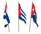 Flag of Cuba — Stock Photo