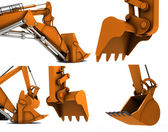 Digger scoop — Stock Photo