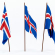 Flag of Iceland — Stock Photo #1850916