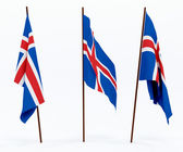 Flag of Iceland — Stockfoto