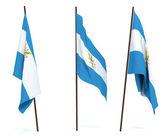 Flag of Argentina — Stock Photo