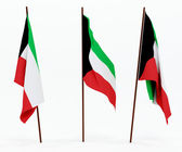 Flag of Kuwait — Stock Photo