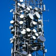 Stock Photo: Communications tower